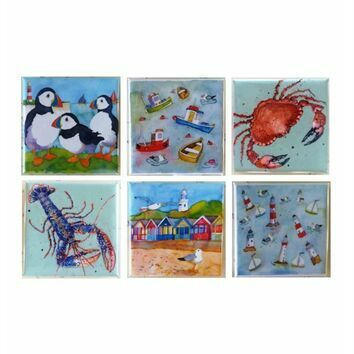 Emma Ball Small Fridge Magnets - 6 Designs