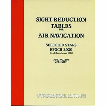 Sight Reduction Tables for Air Navigation, Volume 1