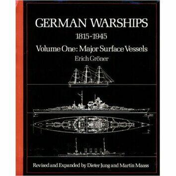 German Warships 1815-1945 Volume 1