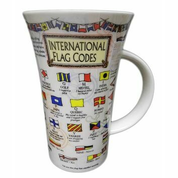 Dunoon Flag Codes Glencoe Shaped Mug