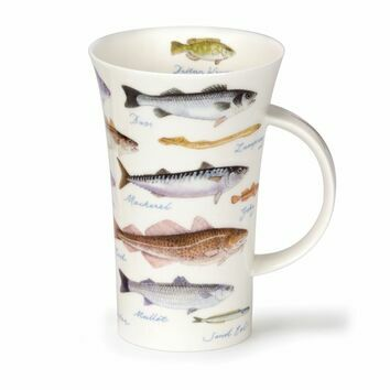 Dunoon Sea Fish Glencoe Shaped Mug