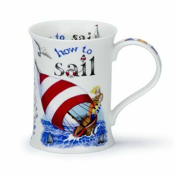 Dunoon How To Sail Cotswold Shaped Mug