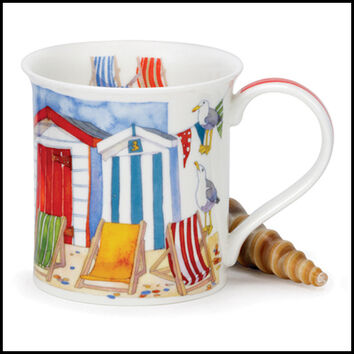 Bute - Sandy Bay - Beach Hut Mug