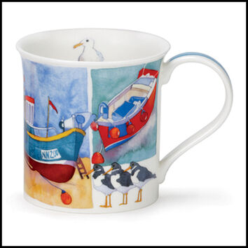 Bute - Sandy Bay - Boats Mug