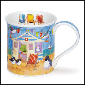 Bute - Waterfront - Beach Huts Mug