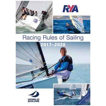 RYA Racing Rules of Sailing 2017 - 2020 Waterproof