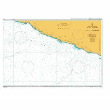 1024 Punta Galera to Punta Mangrove Admiralty Chart