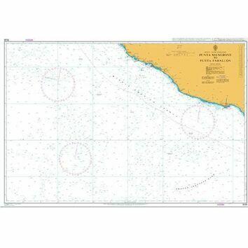 1026 Punta Mangrove to Punta Farallon Admiralty Chart