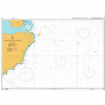 103 Hainan Dao Eastwards Admiralty Chart