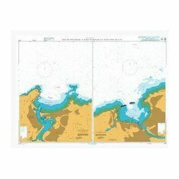 1170 Baie de Fontarabie or Rada de Higuer and Saint-Jean-de-Luz Admiralty Chart