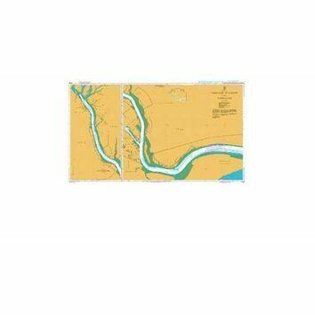 1228 Umm Qasr,   Az Zubayr and Approaches Admiralty Chart