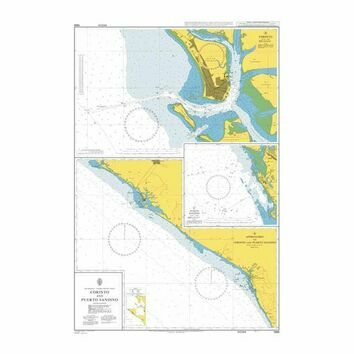 1969 Corinto and Puerto Sandino Admiralty Chart