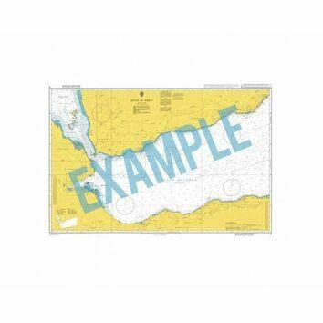 2465 Ile Ouen to Ile des Pins Passe de la Sarcelle Admiralty Chart