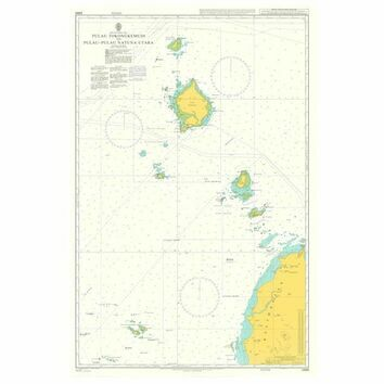 2868 Pulau Tokongkemudi to Pulau-Pulau Natuna Utara Admiralty Chart