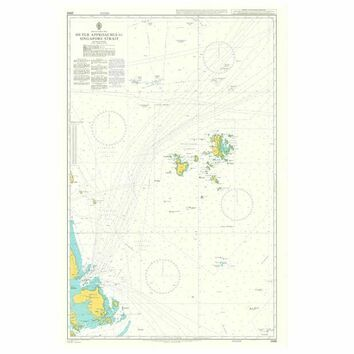 2869 Outer Approaches to Singapore Strait Admiralty Chart