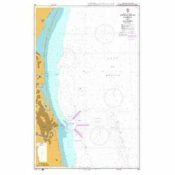 364 Approaches to Tampico and Altamira Admiralty Chart