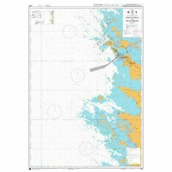3830 Uskalinmaa to Iso-Enskeri Admiralty Chart