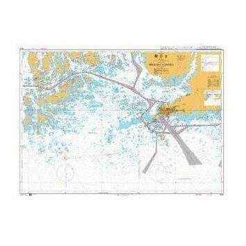 3832 Hogsara to Hanko Admiralty Chart