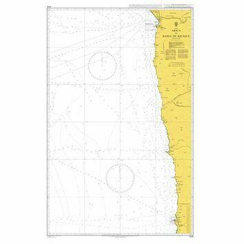 4218 Arica to Bahia de Iquique Admiralty Chart