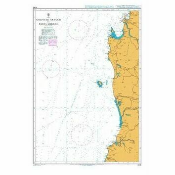 4245 Golfo de Arauco to Bahia Corral Admiralty Chart