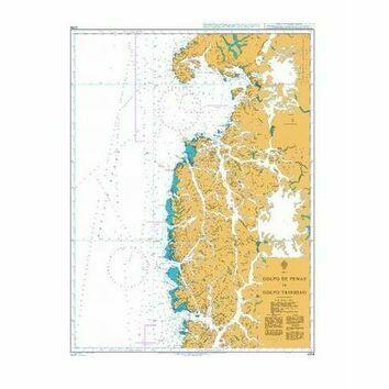 4258 Golfo de Penas to Golfo Trinidad Admiralty Chart