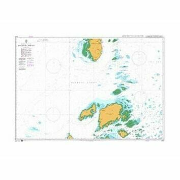4464 Philippines and Malaysia, Balabac Strait Admiralty Chart
