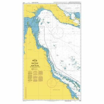 4620 Percy Isles to Booby Island Including Gulf of Papua Admiralty Chart