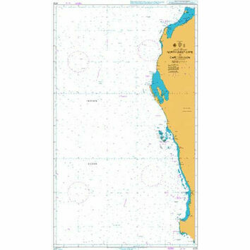 4725 North West Cape to Cape Leeuwin Admiralty Chart
