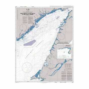 4731 Pointe Amour a / To Cape Whittle et / and Cape St George Admiralty Chart