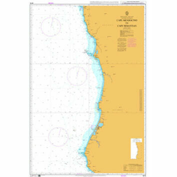 4916 Cape Mendocino to Cape Sebastian Admiralty Chart