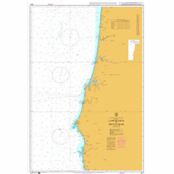 4917 Cape Blanco to Heceta Head Admiralty Chart