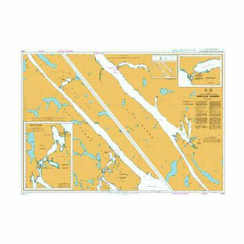 4932 British Columbia/Colombie-Britannique Grenville Channel Admiralty Chart