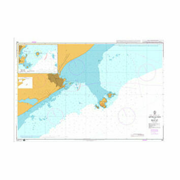 550 Approaches to Macae Admiralty Chart