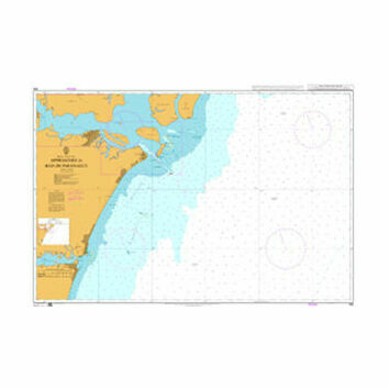 589 Approaches to Baia de Paranagua Admiralty Chart