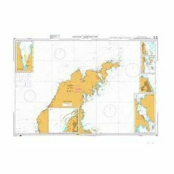 798 Gotland - Northern Part Admiralty Chart