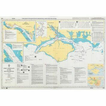 8049 Port Approach Guide - Rio Grande, Porto Alegre and Terminal Santa Clara Admiralty Chart