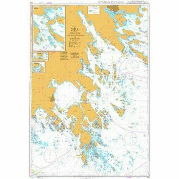 844 Lillhammarsgrund to Bokosund Admiralty Chart