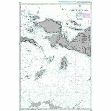 942B Eastern Archipelago Seram to Kolepon Admiralty Chart