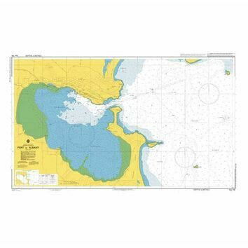 AUS109 Port of Albany Admiralty Chart