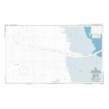 AUS138 Port Adelaide Entrance Channel Admiralty Chart