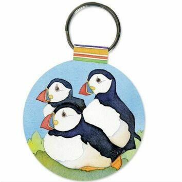 Emma Ball Keyring - Puffin