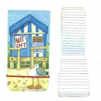 Emma Ball 'Beach Huts' Pocket Paperback Notebook