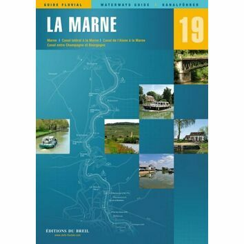 Imray Editions Du Breil No. 19 La Marne Waterway Guide