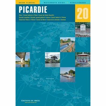Imray Editions Du Breil No. 20 Picardie Waterway Guide