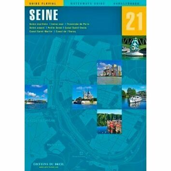 Imray Editions Du Breil No. 21 La Seine Waterway Guide