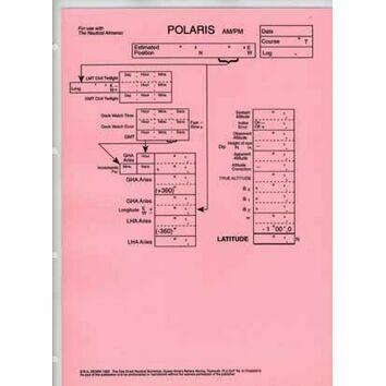 Laminated Sight Reduction Forms - Polaris