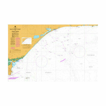 AUS357 South East Point to Point Hicks Admiralty Chart