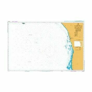 AUS752 Pelsaert Island to Beagle Islands Admiralty Chart