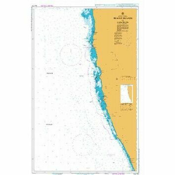 AUS753 Beagle Islands to Lancelin Admiralty Chart