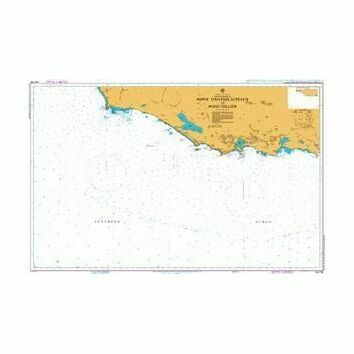 AUS758 Point D'Entrecasteaux To Point Hillier Admiralty Chart